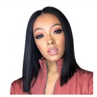 100% Virgin Bob Wigs Human Hair Full Lace Wigs With Baby Hair 10A Grade for sale