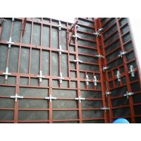 China Water proof Customized Concrete Wall Formwork , permanent formwork for Straight Wall on sale