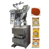 Wholesale 10 - 200g 3 or 4 Side Pillow Bag Sealing Sachet Packing Machine For Hot Peper / Chilli Powder from china suppliers