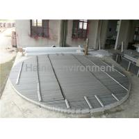 China Plate Type Vane Mist Extractor , Vane Mist Eliminator For Wet Scrubber Dust Collector on sale