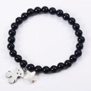 China Many Color Handmade Beaded Bracelets Attractive Natural Stone Charm Bracelet on sale