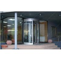 Wholesale 12mm Aluminum Alloy Automatic Revolving Door For Hotel ISO9001 from china suppliers