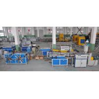 Wholesale Single Wall Corrugated Pipe Extrusion Machinery For PP / PE / PVC Pipe from china suppliers