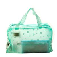 Wholesale Matt Imprinted PVC Transparent Makeup Bag  Eco Friendly Cosmetic Tote Bag from china suppliers