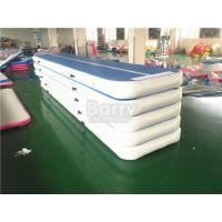Wholesale Inflatable Floating Yoga Mat , Air Track Gymnastics Mat For Training Exercise from china suppliers