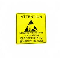 Wholesale Self Adhesive Electronic Product Label For Electrical Warning Attention from china suppliers
