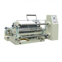 Wholesale High Effective CPlastic Film Slitting Machine Speed 0-200m/Min Stable Performance from china suppliers
