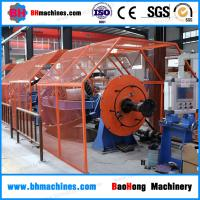 China Bow Strander for control cables / Skip stranding machine for electric cable manufacturing 1+3 / 1250 mm on sale