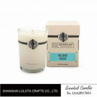 Wholesale Southern Belle / Raspberry Fragrance Natural Scented Candle Chemical Free , Eliminating Odors from china suppliers