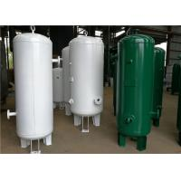 Wholesale Custom Vertical Air Receiver Tank , Air Compressor Reserve Tank Pressure Vessel from china suppliers