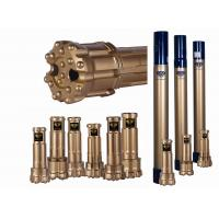Wholesale DTH Reverse Circulation Hammer And Bits 17-35 Bar Air Pressure Gold Color from china suppliers