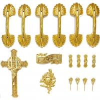 Wholesale Coffin Accessories Ornamental Coffins Screws And Jesus , Bracket Set HS9003 from china suppliers
