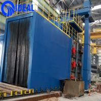CE and ISO approved heavy duty large type shot blasting machine for surface improving