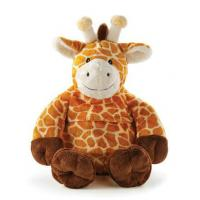 Wholesale Brown Lovely Giraffe Stuffed Animal Toys Sitting And Standing Pose from china suppliers