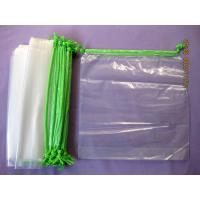 Wholesale Personalised HDPE / LDPE Clear Drawstring Plastic Bags For Packaging from china suppliers
