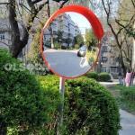 Indoor Outdoor Safety Acrylic Convex Mirrors for Supermarket Schools Driveway