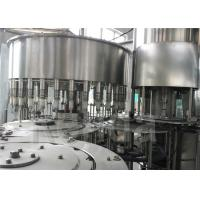 China High Efficiency Drinking Water Bottling Equipment , SUS304 Stainless Steel Liquid Filling Machine for sale
