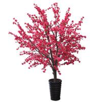 Wholesale artificial plant artificial flower White artificial cherry blossom tree / fake cherry from china suppliers
