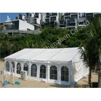 Wholesale Activities Held in the White Fabric Roof Event Tent Preventing from Strong Sun from china suppliers
