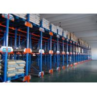 Wholesale Multi Level Durable Steel Shuttle Storage System For Storage Irregular / Shape Goods from china suppliers