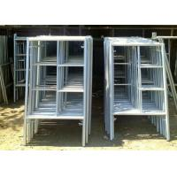 Wholesale Portable Frame Scaffolding System , Light Weight Aluminium Mobile Scaffold from china suppliers