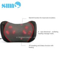 Wholesale One Button Control Electric Massage Pillow Homedics 3d Shiatsu Massage Pillow With Heat from china suppliers