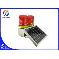 Wholesale AH-LS/D Solar powered LED double/twin aviation obstruction light/aircraft warning light from china suppliers