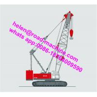 Wholesale Hydraulic Crawler Crane QUY150 (150T) With Length Of Main Boom 19-73m from china suppliers