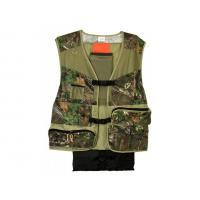China Scent Blocker Torched Turkey Vest Polyester Camouflage Outdoor Turkey Hunting Vest on sale