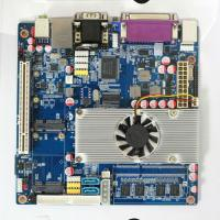 China Onboard Atom D525 45nm CPU Mini Itx Motherboard with 6*COM for Nc Terminal on sale
