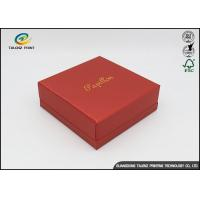 Wholesale Embossing Logo Customized Environmental Printing Cardboard Gift Boxes With Hot Stamping Surface Dispoal from china suppliers