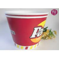 Wholesale 120oz Paper Popcorn Buckets Logo Printed , Disposable Popcorn Containers from china suppliers