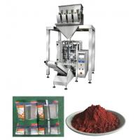 Wholesale Vetical Iron Oxide Powder Packaging Machine With 4 Heads And Vacuum Feeder from china suppliers