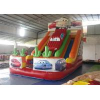 Wholesale PVC Tarpaulin Commercial Inflatable Slide, Car Shape Inflatable Colorful Slide from china suppliers