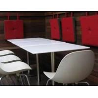 Buy cheap CE, SGS non-porous Food safe flame, impact resistance acrylic solid surface Products sheet from wholesalers