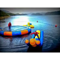 Wholesale Water Jump Trampoline And Seasaw Water Blow Up Toys For Water Park from china suppliers