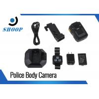 Wholesale App Control Body Camera Recorder , Body Worn Camera With Night Vision from china suppliers