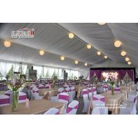 Wholesale Instant Movable Metal Frame PVC Structure Luxury Wedding Tents with AC and Furniture from china suppliers