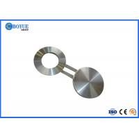 China Gas Figure 8 Blind Flange Forged 825 Inconel Pipe Fittings RF FF RTJ Type on sale