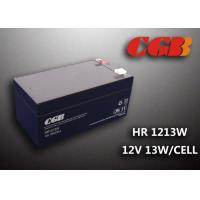 Wholesale HR1213W 12V 3.5AH High Rate Discharge Battery , Security Long Life Lead Acid Battery Rechargeable from china suppliers