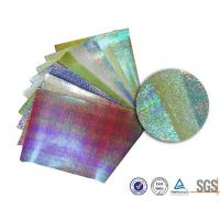 Customerized Pearl rainbow wrapping paper for bouquets , Iridescent  gift wrap sheets for sale