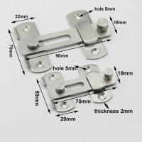 Quality 2 size for reference smooth brushed stainless steel cabinet door latch for sale