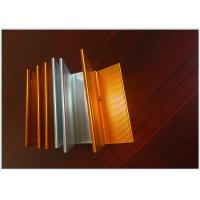 Wholesale Bronze Color Industrial Aluminum Profile 6m Normal Length Corrosion Resistant from china suppliers