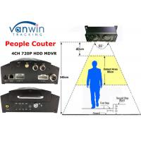 Buy cheap Over 98% Accuracy Unique 3G GPRS People Counter MDVR for Bus Passenger Counting from wholesalers