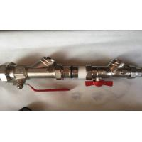 Wholesale Manual Water Brass Ball Valve For Gas Bolier With PPR Fittings from china suppliers