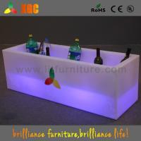 Wholesale Plastic 16 Colors Light Up Wine Bucket With Lithium Rechargeable Battery from china suppliers