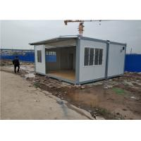 Wholesale Staff Dormitory Prefab Storage Container Homes With Aluminum Sliding Window from china suppliers