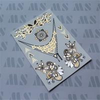 Wholesale Gold foil temporary tattoos, Tattoo sticker, Fake tattoo from china suppliers