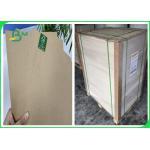 China FSC & SGS 50g to 80g Kraft Liner Paper Food Grade Virgin Wood 28 * 39 inch for sale