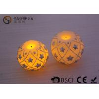Wholesale Eco Friendly Round Led Candles , Holiday Led Candles Star Shape from china suppliers